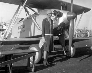 Amelia Earhart, my 7th cousin 3 times removed