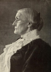 Susan B. Anthony, 6th cousin 7 times removed