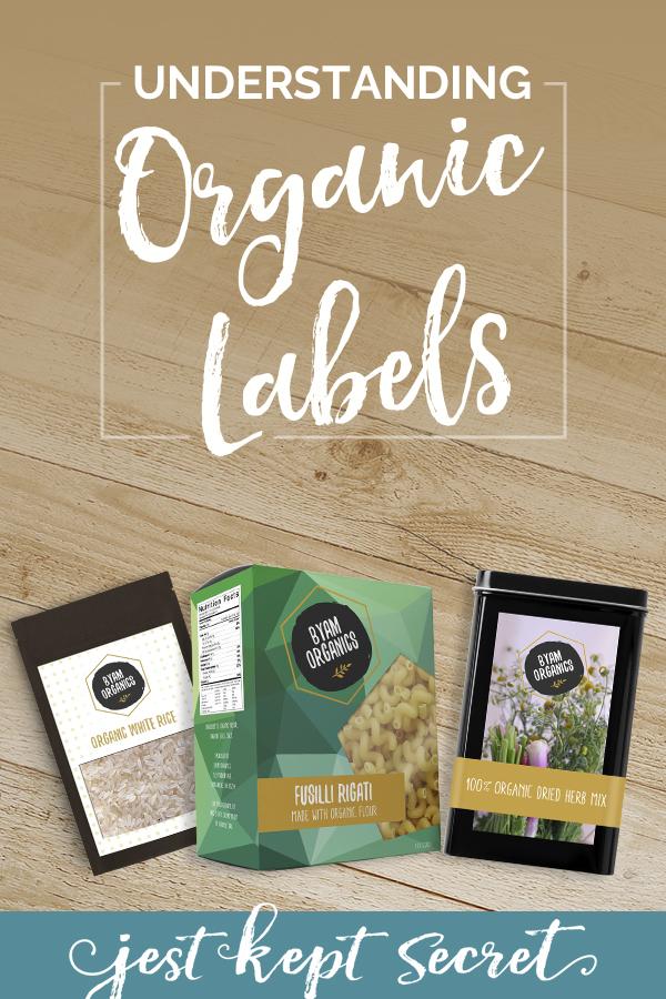 Understanding Organic Labels