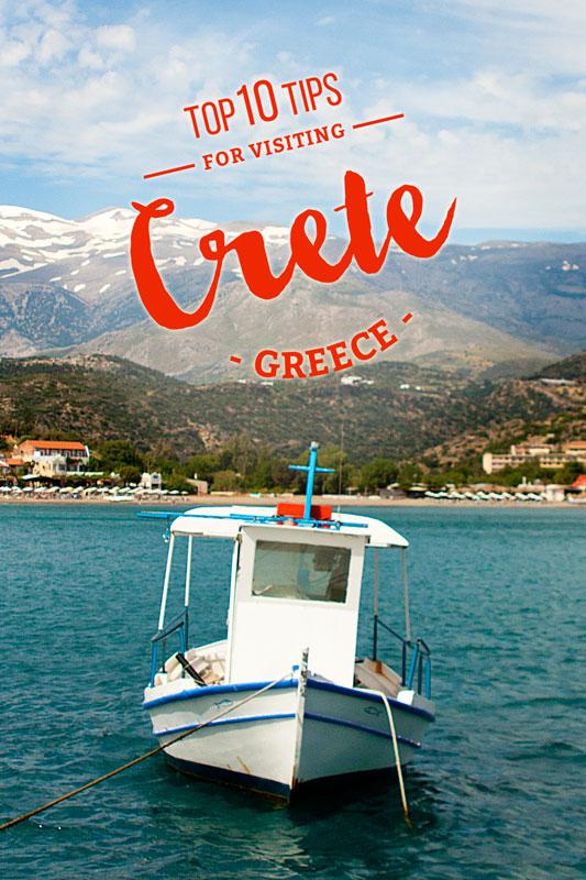 Top Ten Tips Crete