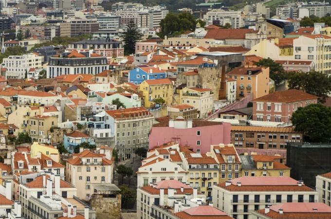 View from Castelo Sao Jorge