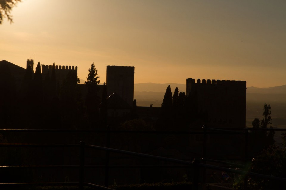 Sunset at the Alcazaba