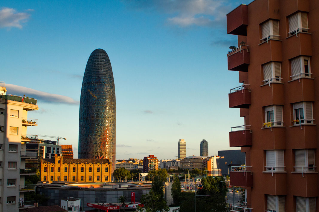 Barcelona from the Hostel