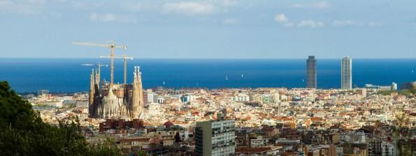 Sagrada Familia From a Distance