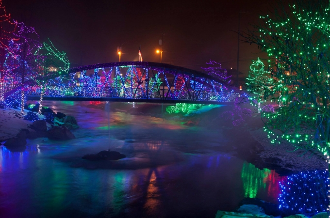 Caldwell City Christmas Lights