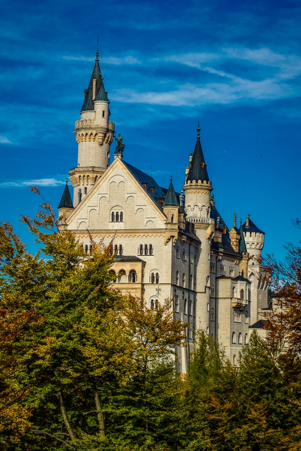 First View of Neuschwanstein Castle | Jest Kept Secret