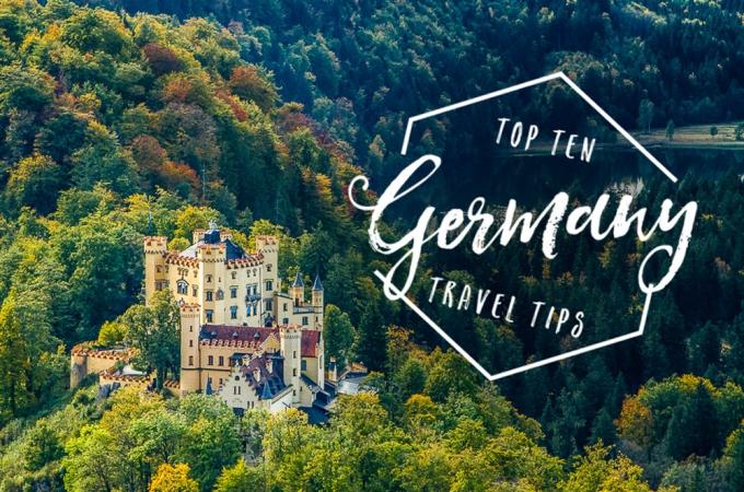 Top 10 Tips for Traveling to Germany   Jest Kept Secret