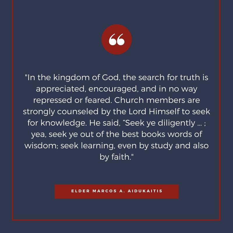 Elder Marcos A. Aidukaitis Quote