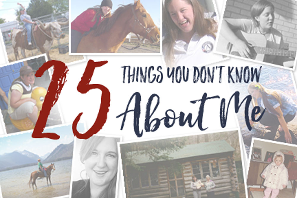 25 Things You Don't Know About Me | Jest Kept Secret