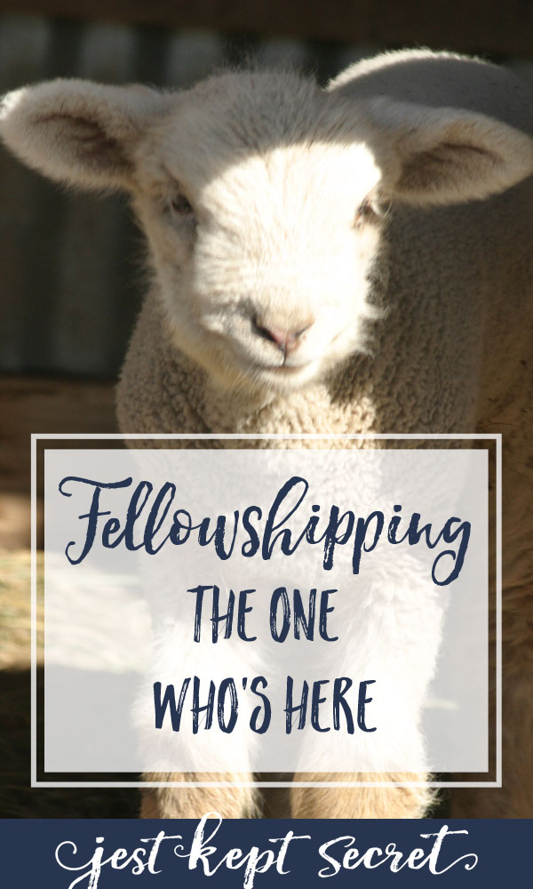 Fellowshipping the One Who's Here | Jest Kept Secret