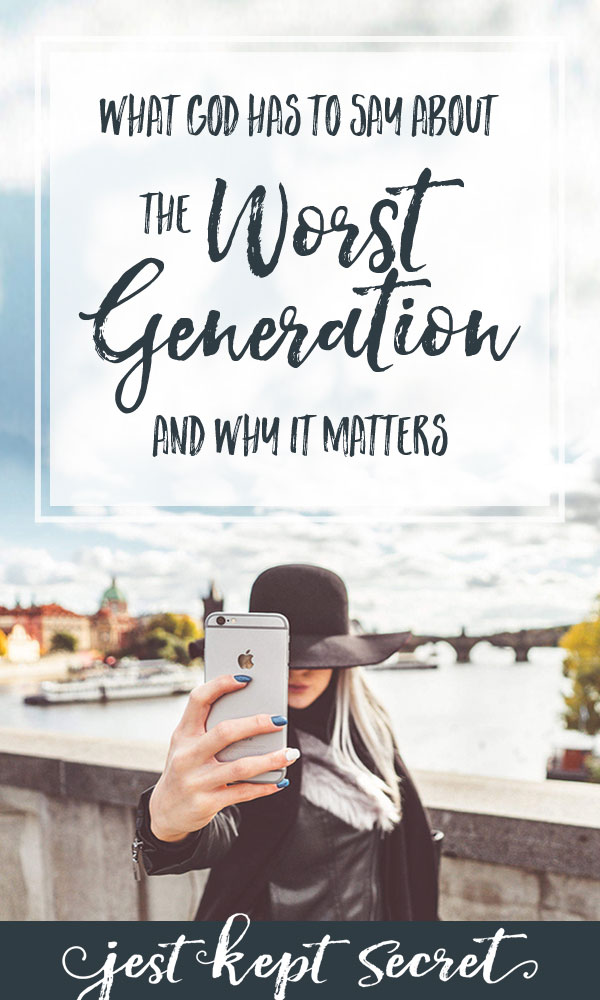 The Worst Generation | Jest Kept Secret