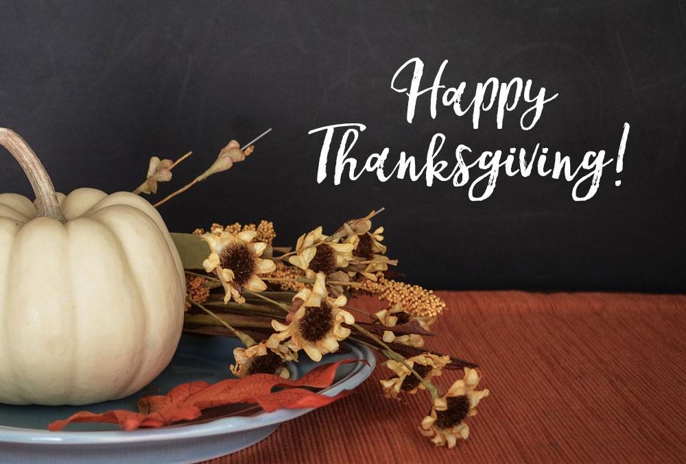 Happy Thanksgiving from Jest Kept Secret