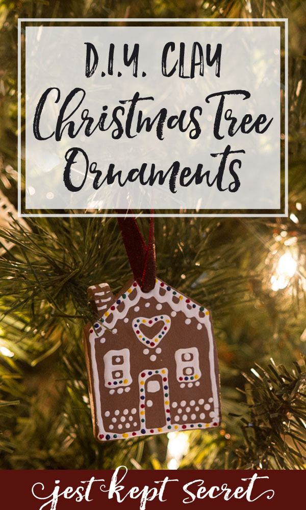 Pinnable Image for DIY Christmas Tree Ornaments | Jest Kept Secret