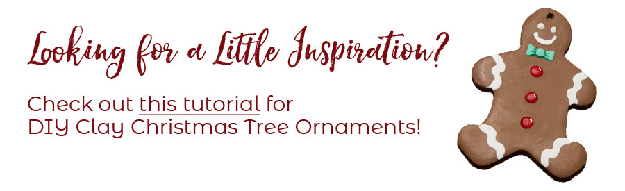 Looking for some inspiration? Check out this tutorial for DIY Christmas Tree Ornaments