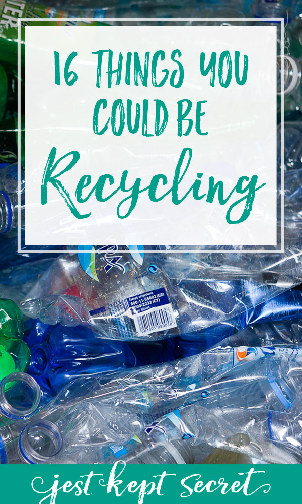 16 Things You Could be Recycling | Jest Kept Secret