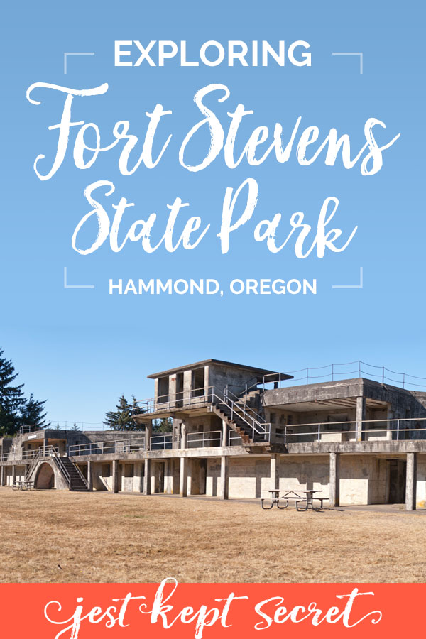 Pinnable image for Exploring Fort Stevens State Park | Jest Kept Secret