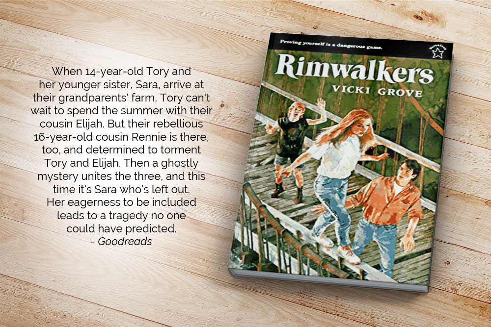 When 14-year-old Tory and her younger sister, Sara, arrive at their grandparents' farm, Tory can't wait to spend the summer with their cousin Elijah. But their rebellious 16-year-old cousin Rennie is there, too, and determined to torment Tory and Elijah. Then a ghostly mystery unites the three, and this time it's Sara who's left out. Her eagerness to be included leads to a tragedy no one could have predicted.