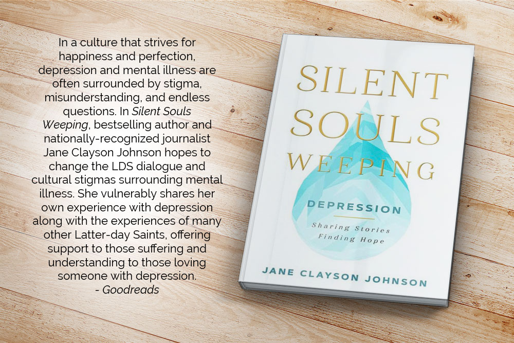 In a culture that strives for happiness and perfection, depression and mental illness are often surrounded by stigma, misunderstanding, and endless questions. In Silent Souls Weeping, bestselling author and nationally-recognized journalist Jane Clayson Johnson hopes to change the LDS dialogue and cultural stigmas surrounding mental illness. She vulnerably shares her own experience with depression along with the experiences of many other Latter-day Saints, offering support to those suffering and understanding to those loving someone with depression.