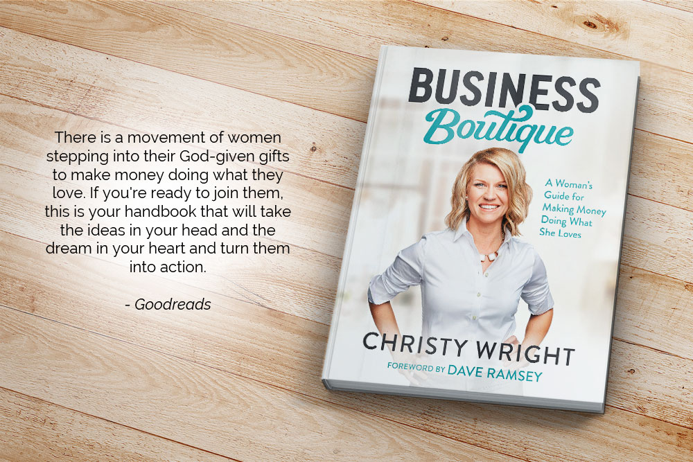 There is a movement of women stepping into their God-given gifts to make money doing what they love. If you're ready to join them, this is your handbook that will take the ideas in your head and the dream in your heart and turn them into action.