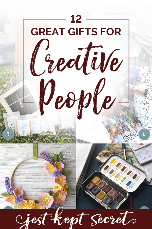 Gifts for creative people