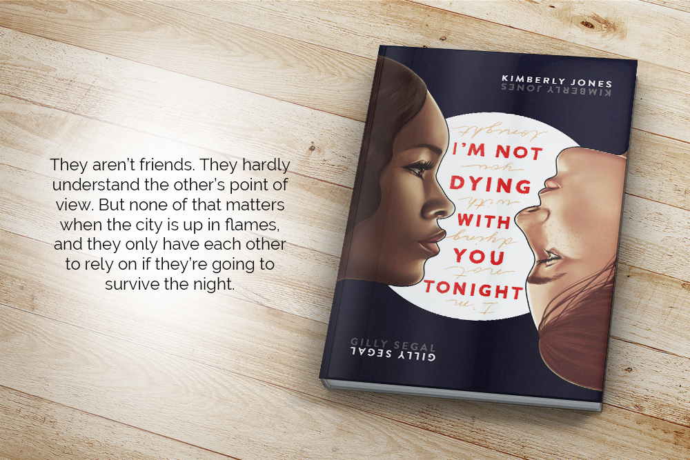 They aren't friends. They hardly understand the other's point of view. But none of that matters when the city is up in flames, and they only have each other to rely on if they're going to survive the night.