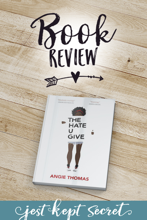 Pinnable image for The Hate U Give book review