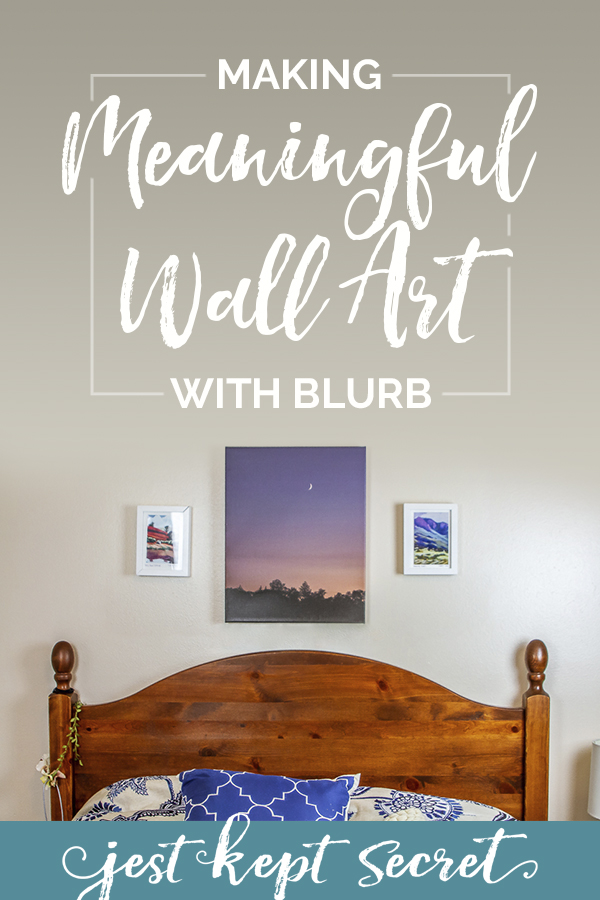 Making Meaningful Wall Art with Blurb