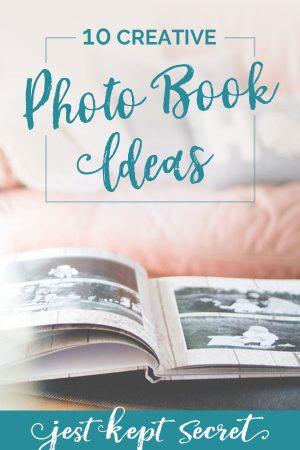 10 Creative Photo Book Ideas from Jest Kept Secret